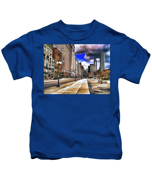 Streets Of Chicago Kids T-Shirt