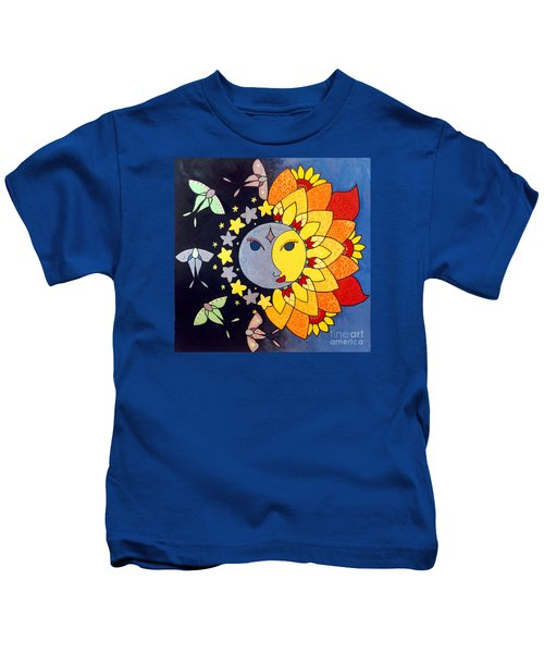 Sun And Moon Kids T-Shirt