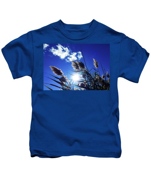 Sunburst Reeds Kids T-Shirt
