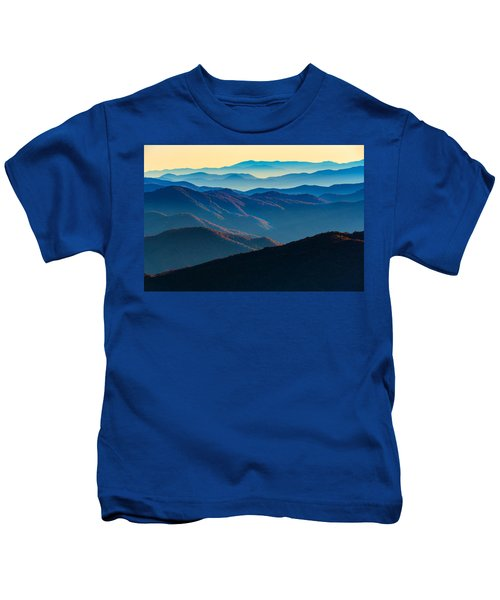 Sunrise In The Smokies Kids T-Shirt