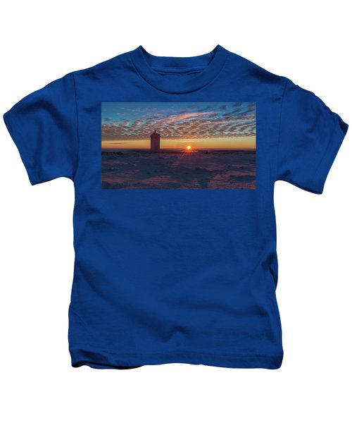 Sunrise On The Brocken, Harz Kids T-Shirt
