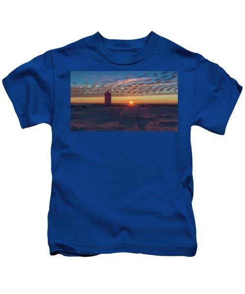 Sunrise On The Brocken, Harz Kids T-Shirt