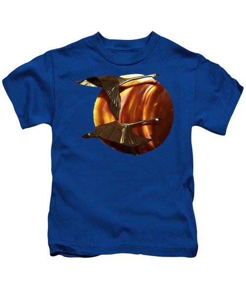 Sunrise Kids T-Shirt by Troy Rider