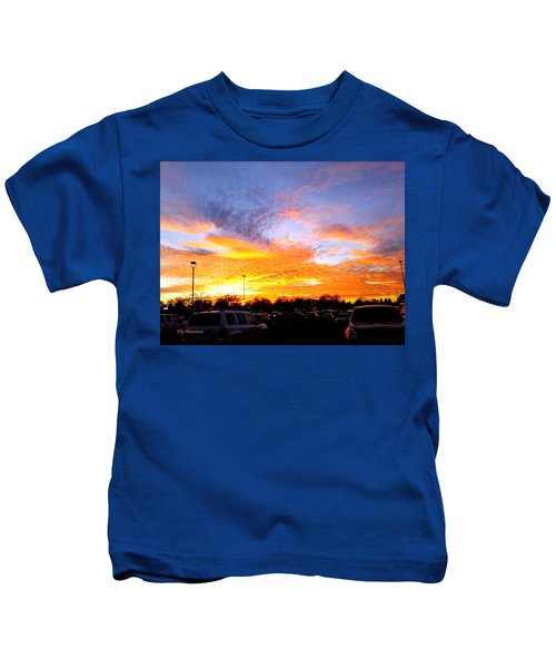 Sunset Forecast Kids T-Shirt