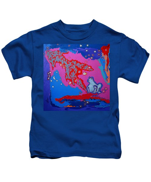 Supper On The Patio  Kids T-Shirt