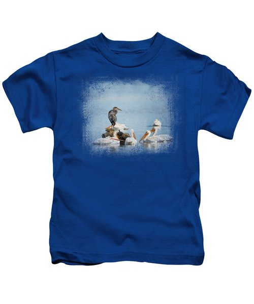 Support Group Kids T-Shirt by Jai Johnson