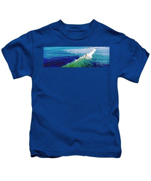 Surfs Up Daytona Beach Kids T-Shirt