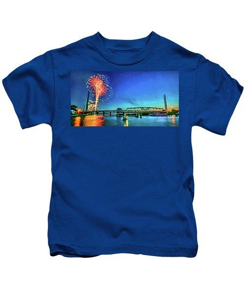 Swan Song Kids T-Shirt
