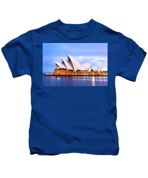 Sydney Opera House At Dawn Kids T-Shirt