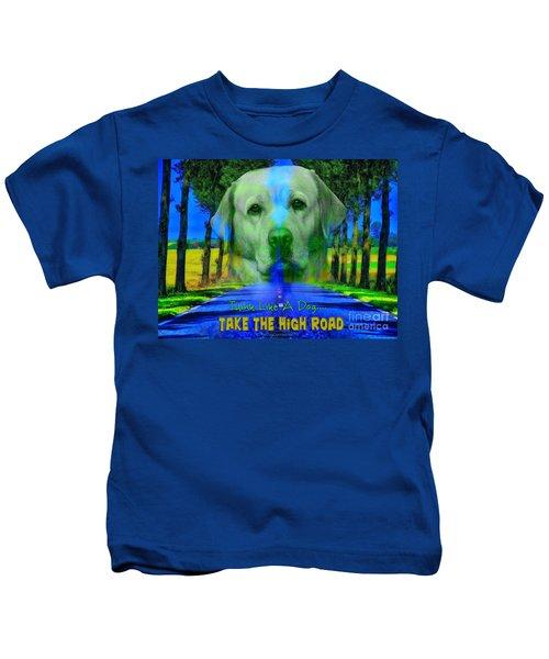 Take The High Road Kids T-Shirt