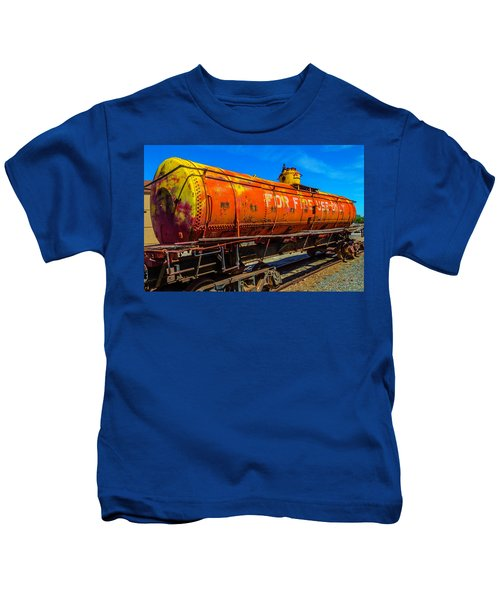 Tanker For Fire Use Only Kids T-Shirt