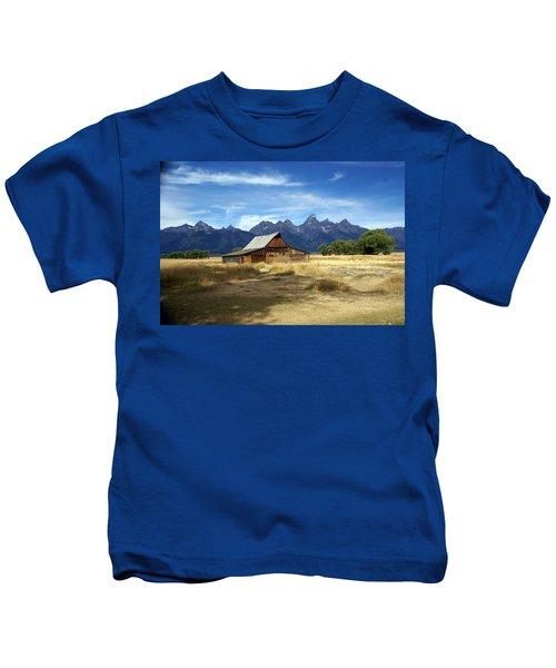 Teton Barn 3 Kids T-Shirt