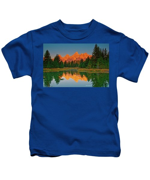 Teton Sunrise Kids T-Shirt