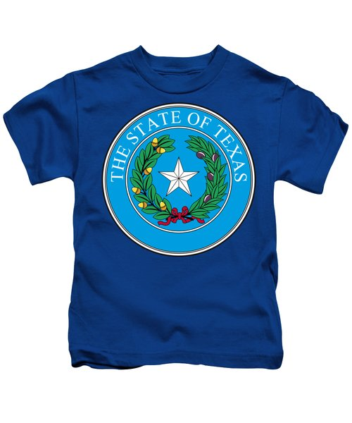 Texas State Seal Kids T-Shirt