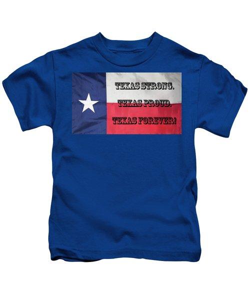 Texas Strong Kids T-Shirt