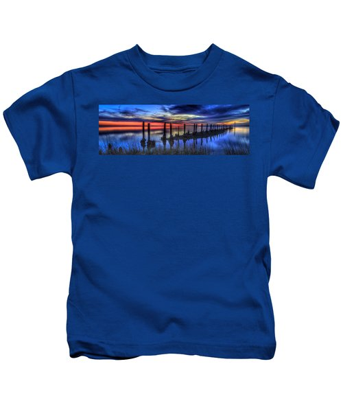 The Blue Hour Comes To St. Marks #2 Kids T-Shirt
