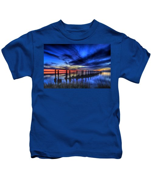 The Blue Hour Comes To St. Marks #1 Kids T-Shirt