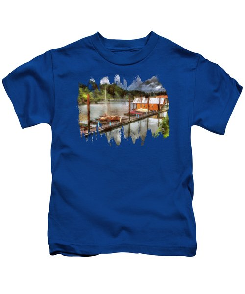 The Charming Port Of Toledo Kids T-Shirt