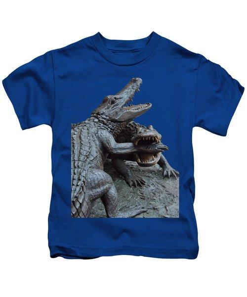 The Chomp Transparent For Customization Kids T-Shirt by D Hackett