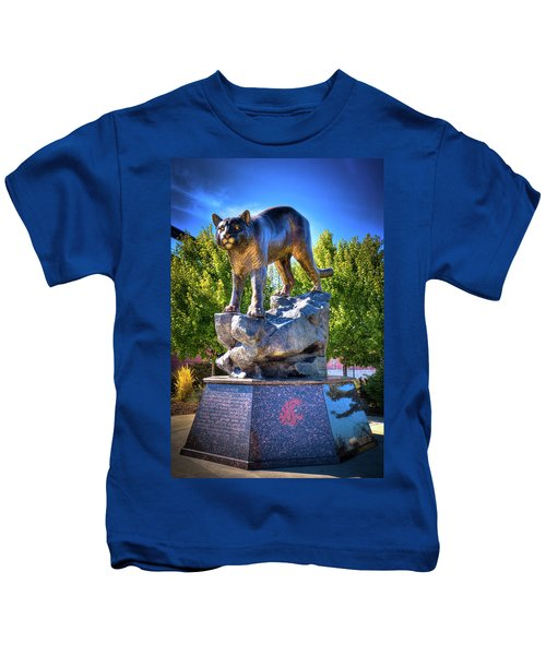 The Cougar Pride Sculpture Kids T-Shirt