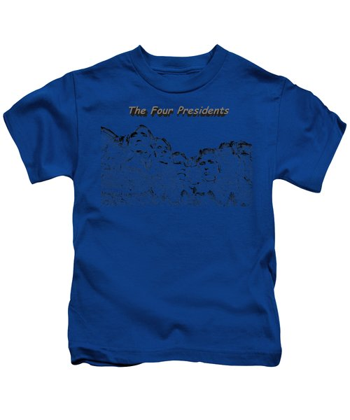 The Four Presidents 2 Kids T-Shirt