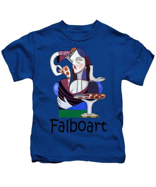 The Mona Pizza T-shirt Kids T-Shirt