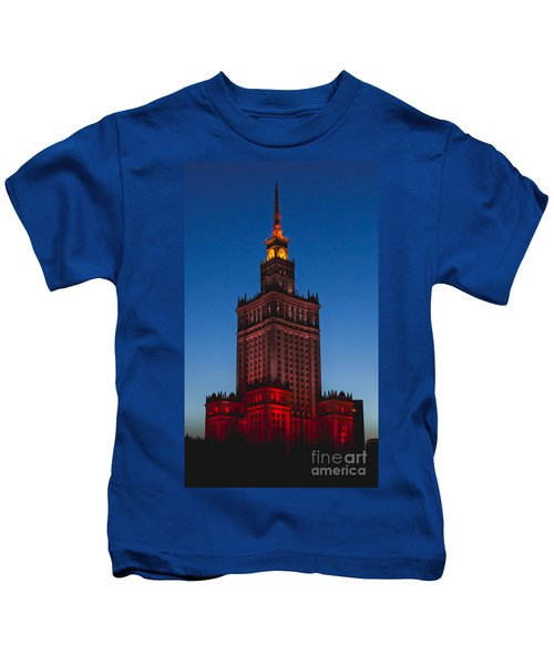 The Palace Of Culture And Science  Kids T-Shirt