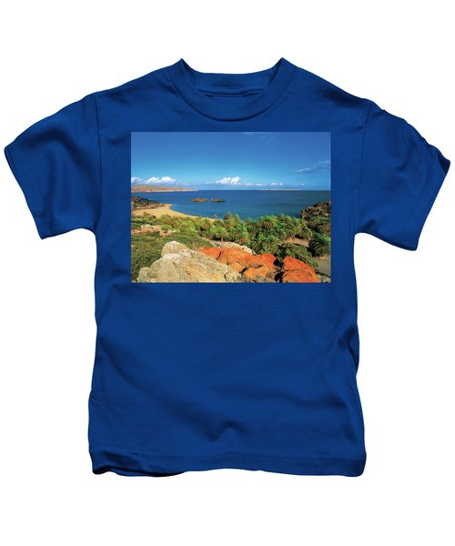 The Palm Forest Of Vai - Crete Kids T-Shirt