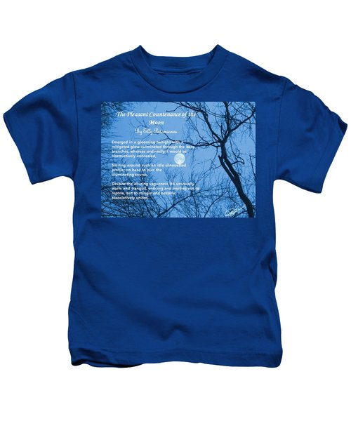 The Pleasant Countenance Of The Moon Kids T-Shirt