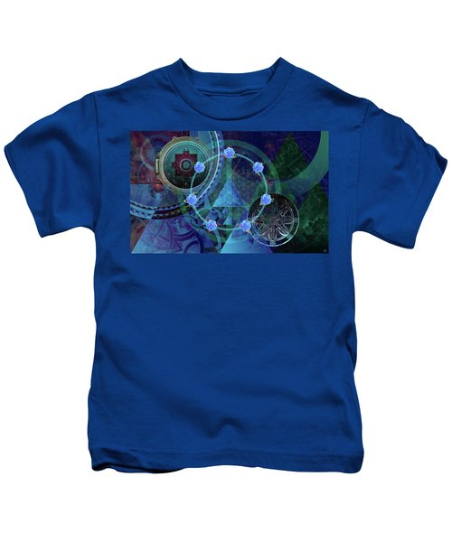 The Prism Of Time Kids T-Shirt