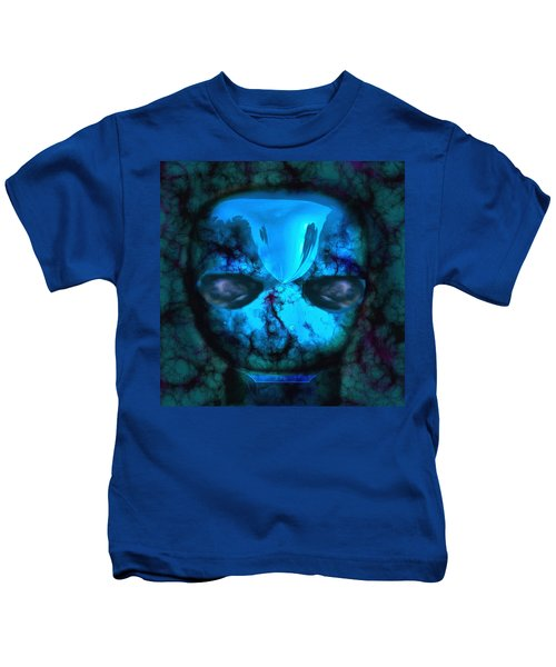 The Pukel Stone Face Kids T-Shirt