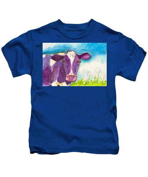 The Purple Cow Kids T-Shirt