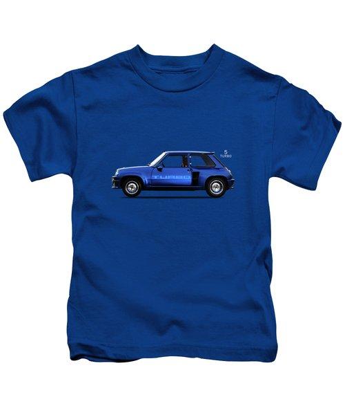 The Renault 5 Turbo Kids T-Shirt by Mark Rogan