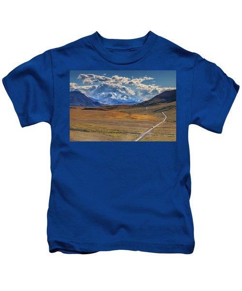 The Road To Denali Kids T-Shirt