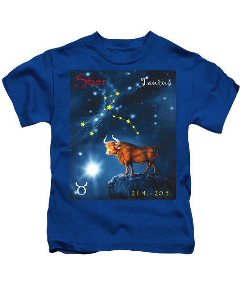 The Star Taurus Kids T-Shirt