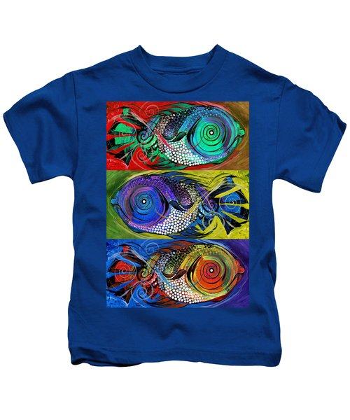 The Three Fishes Kids T-Shirt