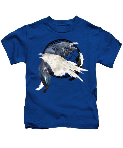The White Raven Kids T-Shirt