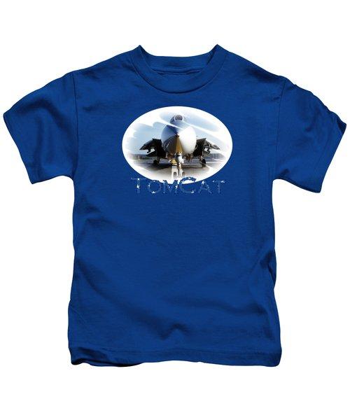 Tomcat Kids T-Shirt by DJ Florek