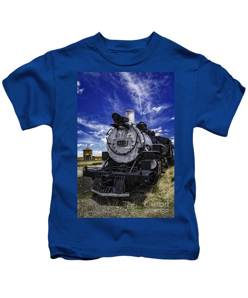 Train Kept A Rollin Kids T-Shirt