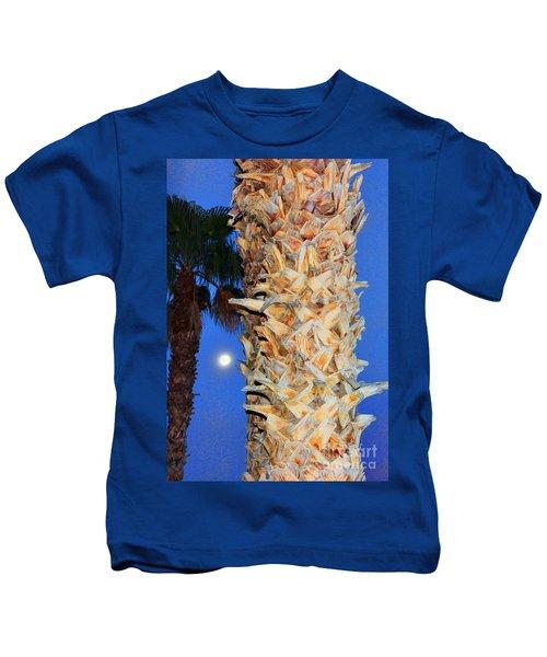 Trees Capture Sun Kids T-Shirt