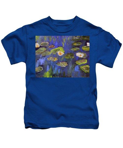 Tribute To Monet Kids T-Shirt