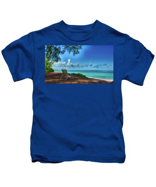 Tropical View Kids T-Shirt