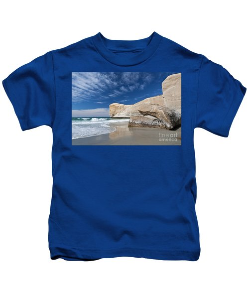 Tunnel Beach 1 Kids T-Shirt