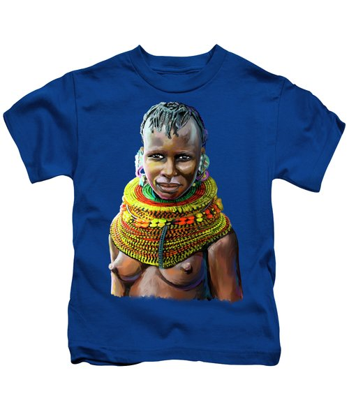 Turkana Girl Kids T-Shirt