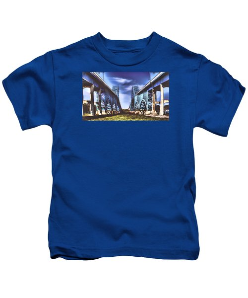 Twin Spanned Arched Kids T-Shirt
