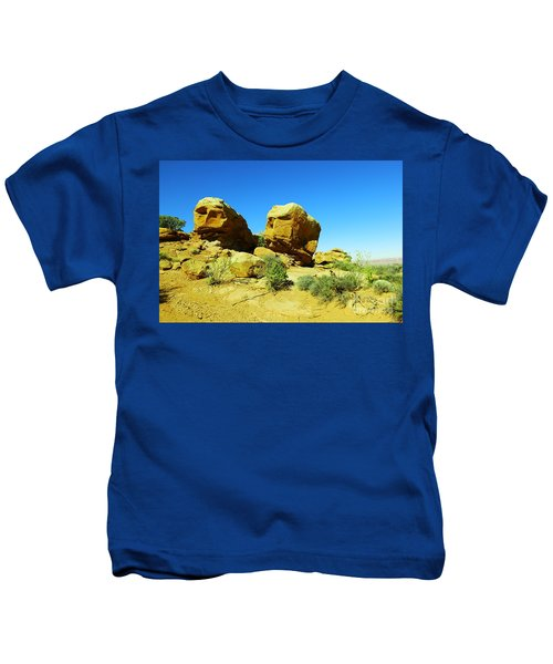 Two Orange Rocks Kids T-Shirt