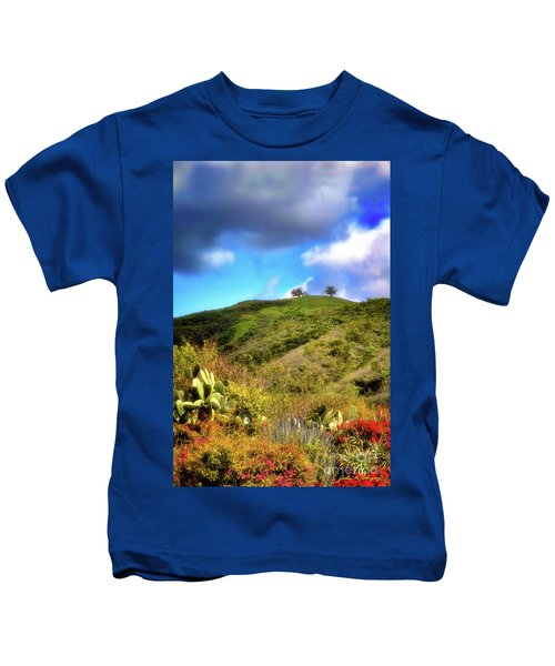 Two Trees In Spring Kids T-Shirt