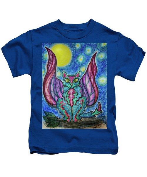 Vampy Kitty Kids T-Shirt