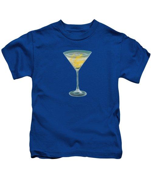 Vesper Martini Kids T-Shirt by Anastasiya Malakhova