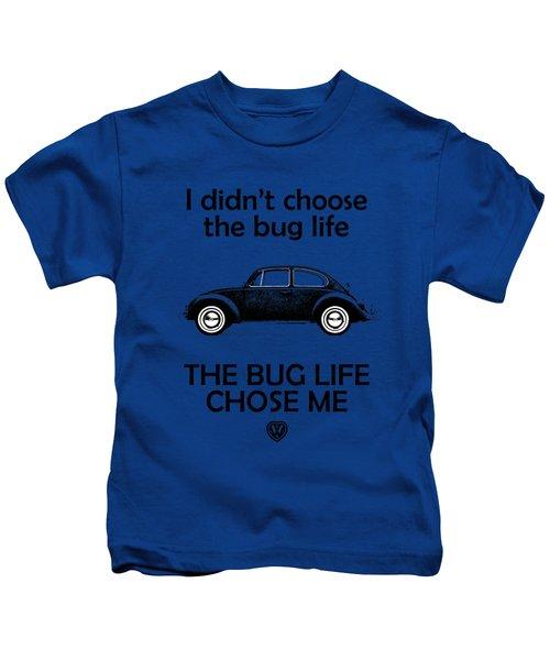 Volkswagen Beetle 1969 Kids T-Shirt by Mark Rogan